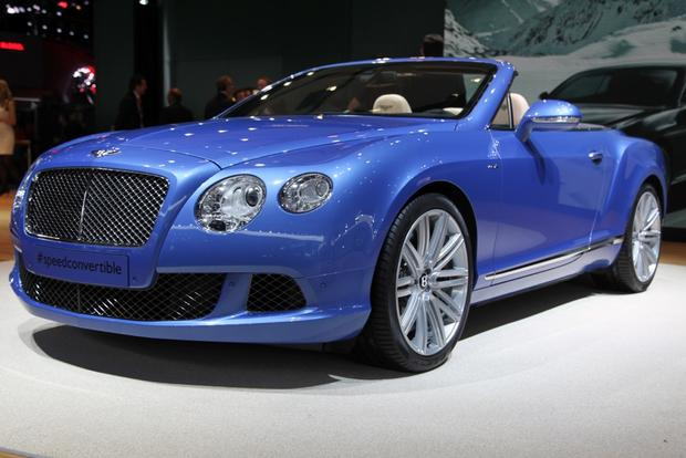 2013 Bentley Continental GT Speed Convertible: Detroit Auto Show
