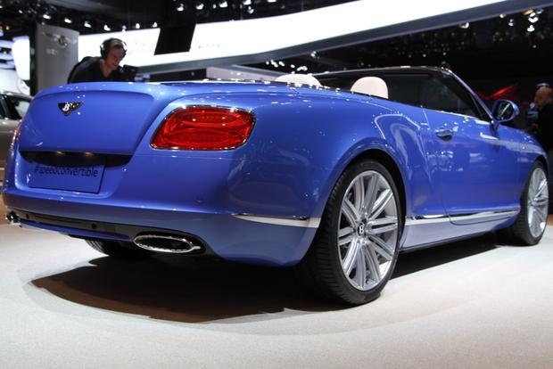 2013 Bentley Continental GT Speed Convertible: Detroit Auto Show featured image large thumb2