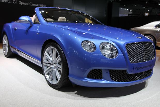 2013 Bentley Continental GT Speed Convertible: Detroit Auto Show featured image large thumb5