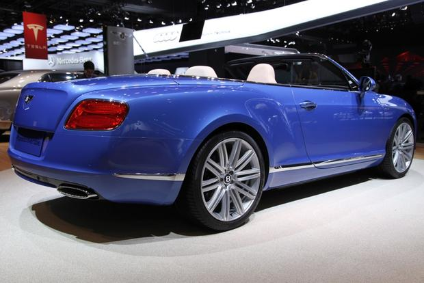 2013 Bentley Continental GT Speed Convertible: Detroit Auto Show featured image large thumb7