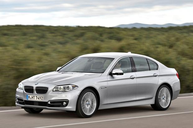 2014 BMW 5 Series Facelift M Sport Package: Sedan, Touring, Gran ...