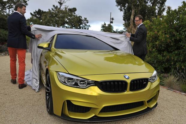 BMW M4 Concept Previews Upcoming M4 Coupe featured image large thumb0
