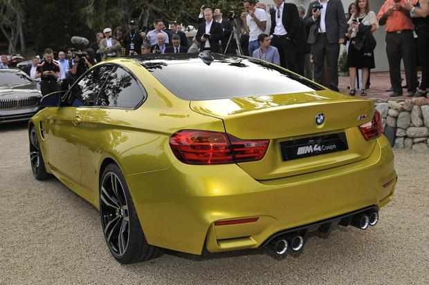 BMW M4 Concept Previews Upcoming M4 Coupe - Autotrader