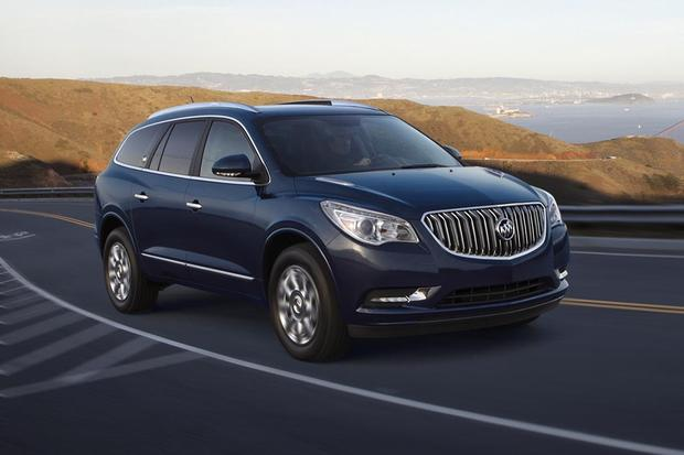 2016 buick enclave new car review autotrader. Black Bedroom Furniture Sets. Home Design Ideas