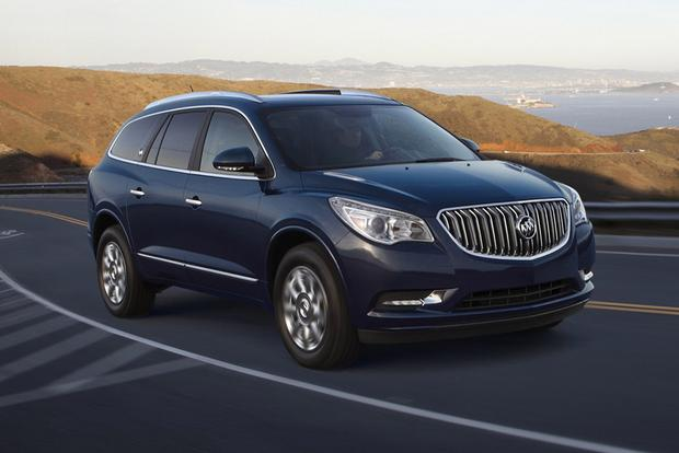 2017 buick enclave new car review autotrader. Black Bedroom Furniture Sets. Home Design Ideas