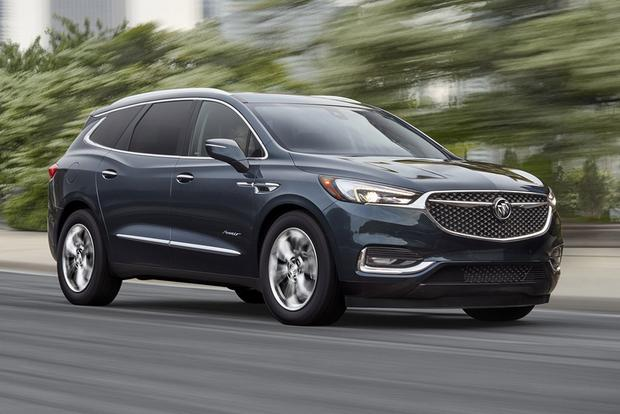 2018 buick enclave first drive review autotrader. Black Bedroom Furniture Sets. Home Design Ideas