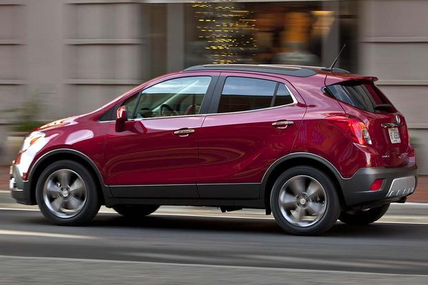 2016 buick encore new car review autotrader. Black Bedroom Furniture Sets. Home Design Ideas