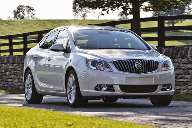 Buick Regal Vs Buick Verano What S The Difference