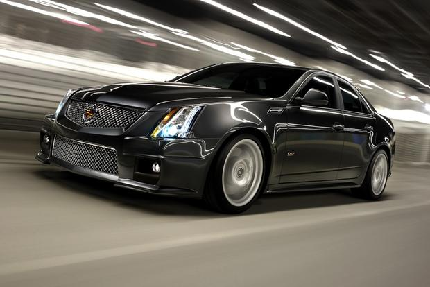 2012 Cadillac CTS-V: New Car Review featured image large thumb2