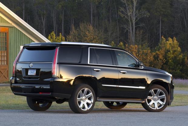 2015 Cadillac Escalade vs. 2015 Infiniti QX80: Which is ...