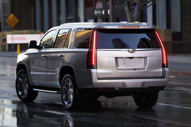 2018 Cadillac Escalade: New Car Review featured image large thumb1