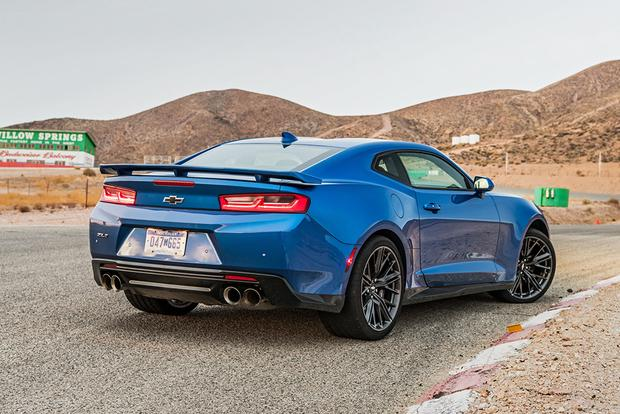 2018 Chevrolet Camaro New Car Review Autotrader