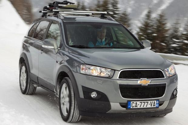 2013 Chevrolet Captiva Sport: Overview