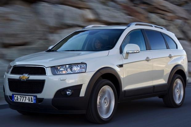 2013 Chevrolet Captiva Sport: Overview featured image large thumb1
