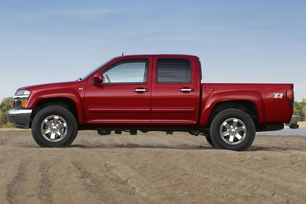 2012 vs  2015 Chevrolet Colorado: What's the Difference