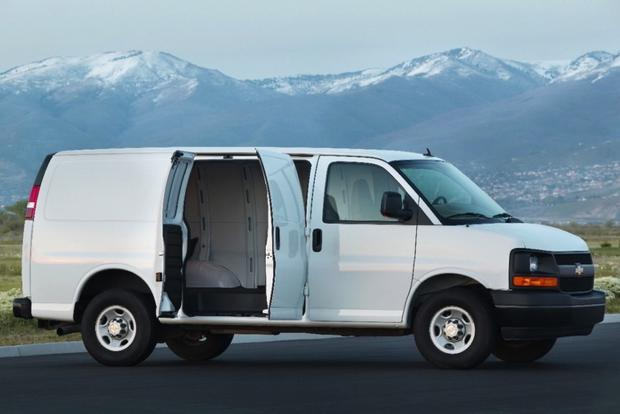 2013 Chevrolet Express 1500: New Car Review featured image large thumb2