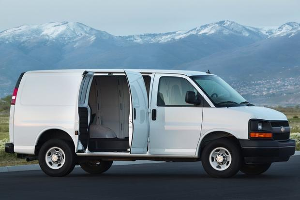 2013 Chevrolet Express 3500: New Car Review featured image large thumb2