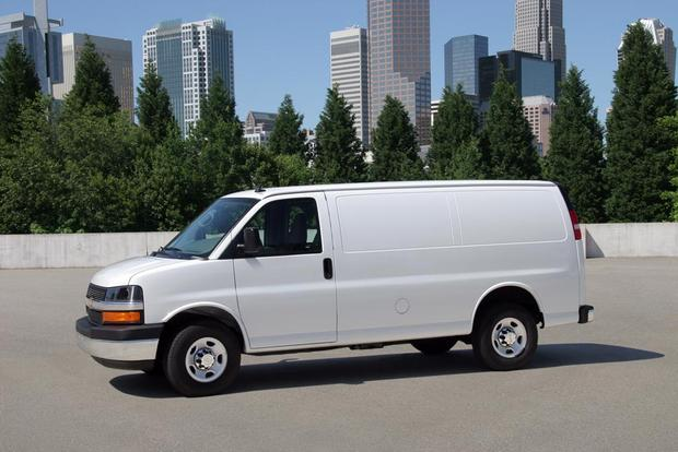 2018 Chevrolet Express Van 3500: New Car Review featured image large thumb1