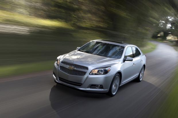 2013 Chevrolet Malibu Turbo: First Drive Review featured image large thumb2