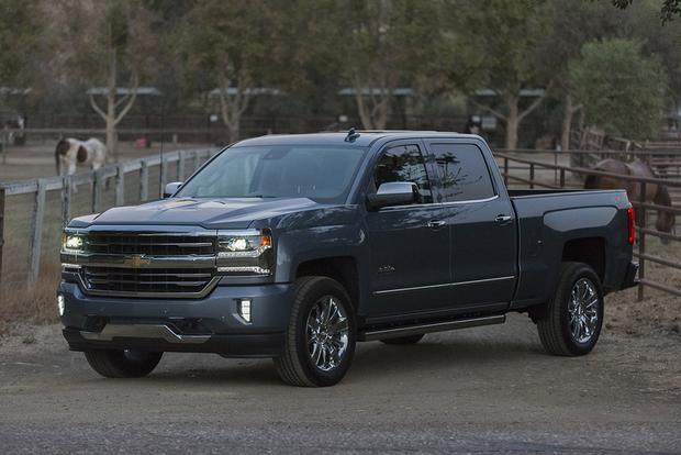 2018 Chevrolet Silverado 1500: New Car Review featured image large thumb0