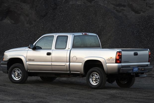 2001 2006 Chevrolet Silverado 2500 Hd Used Truck Review on chevrolet silverado front suspension