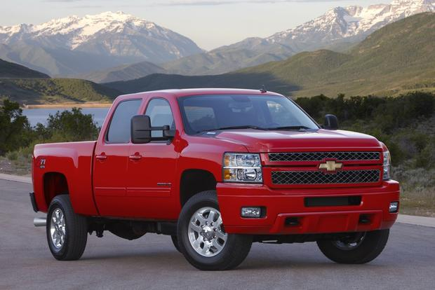 2012 Chevrolet Silverado 2500HD & 3500HD: New Car Review
