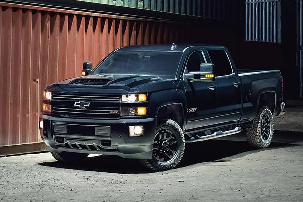 2017 chevrolet silverado 2500hd midnight edition review autos post. Black Bedroom Furniture Sets. Home Design Ideas
