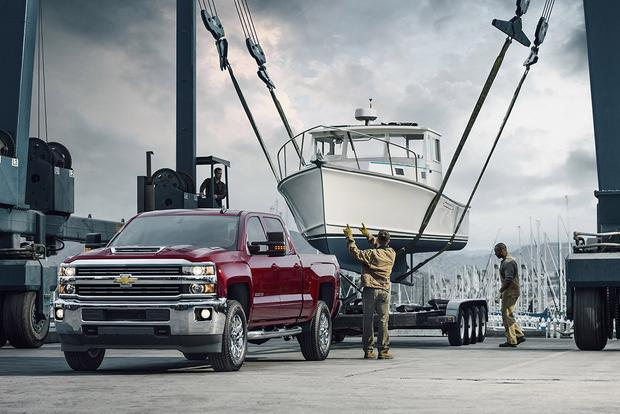 2018 Chevrolet Silverado 3500HD: New Car Review featured image large thumb0