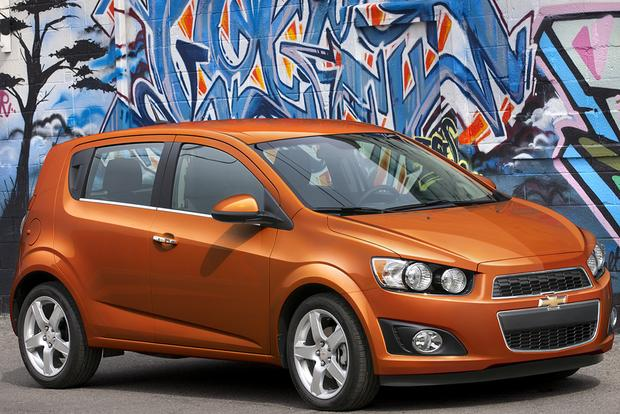chevrolet sonic  car review autotrader