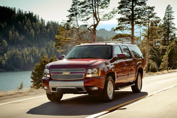 2014 Chevrolet Suburban: New Car Review - Autotrader