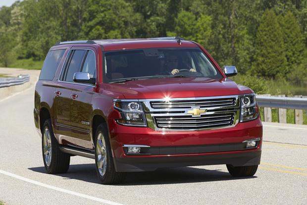 2014 vs. 2015 Chevrolet Suburban: What's the Difference? - Autotrader