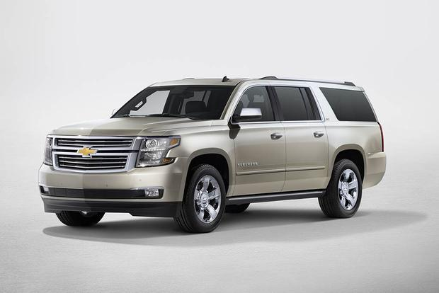 2018 Chevrolet Suburban: New Car Review featured image large thumb0