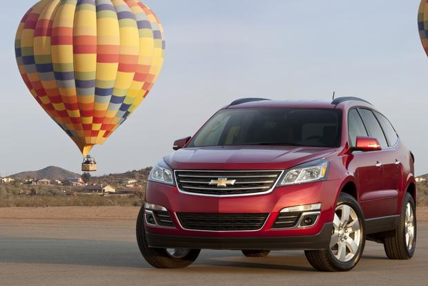 2013 Chevrolet Traverse: New Car Review featured image large thumb0