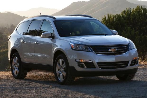 2013 Chevrolet Traverse New Vs Old Autotrader