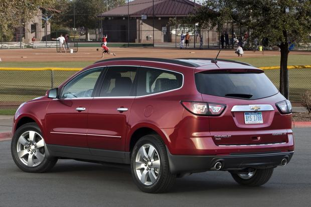 2015 Chevrolet Traverse New Car Review Autotrader
