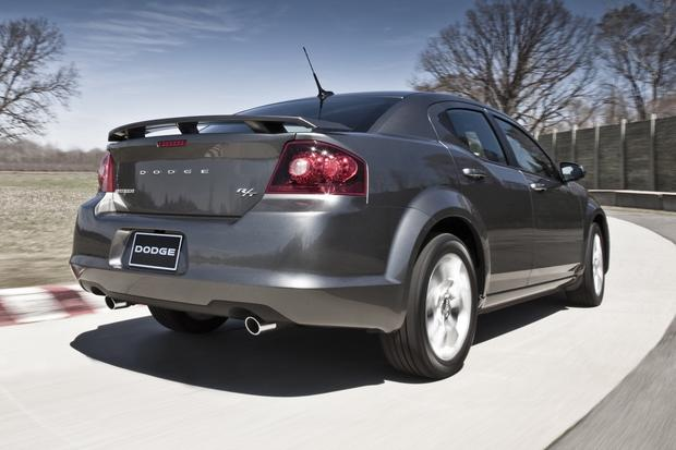 2012 Dodge Avenger: New Car Review featured image large thumb4