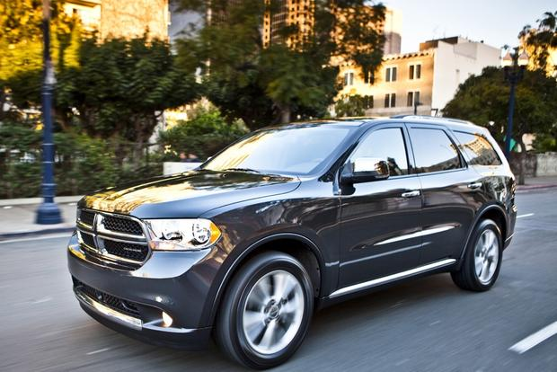 2013 dodge durango new car review autotrader. Black Bedroom Furniture Sets. Home Design Ideas