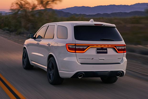 2018 dodge durango srt first drive review autotrader. Black Bedroom Furniture Sets. Home Design Ideas