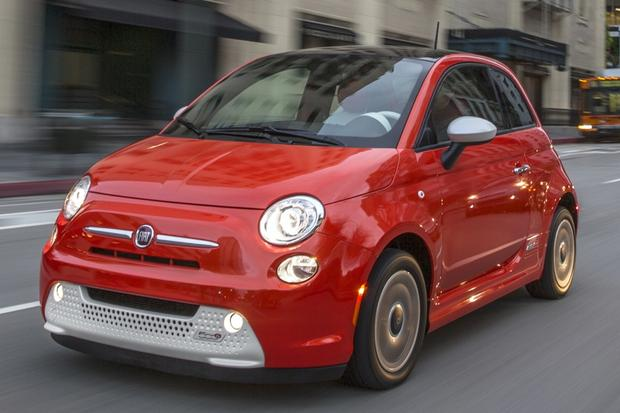 Used 2014 FIAT 500e Pricing & Features | Edmunds