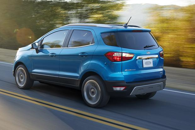 2018 Ford Ecosport How Does Ford S Newest Suv Size Up To The