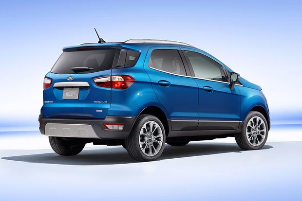 2018 Ford Ecosport Vs 2018 Ford Escape What S The Difference