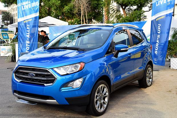 2018 Ford EcoSport vs. 2018 Ford Escape: What's the ...