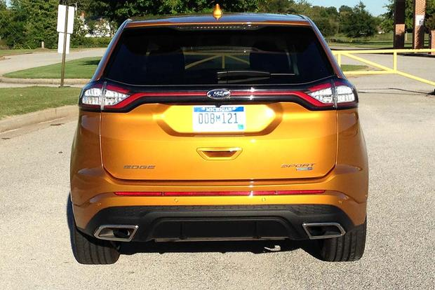2015 ford edge sport real world review autotrader. Black Bedroom Furniture Sets. Home Design Ideas