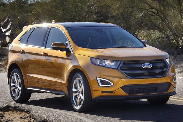 2015 ford edge vs 2015 nissan murano which is better autotrader. Black Bedroom Furniture Sets. Home Design Ideas