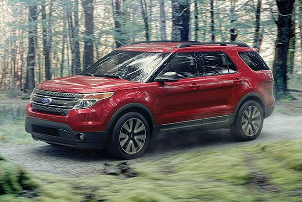 2015 ford explorer new car review autotrader. Black Bedroom Furniture Sets. Home Design Ideas