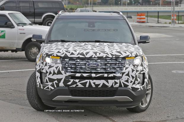 2016 Ford Explorer Spied Without Camouflage featured image large thumb3