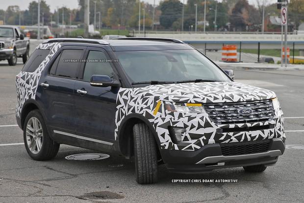 2016 Ford Explorer Spied Without Camouflage featured image large thumb4