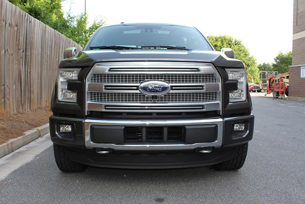 2015 ford f 150 platinum crew cab real world review autotrader. Black Bedroom Furniture Sets. Home Design Ideas