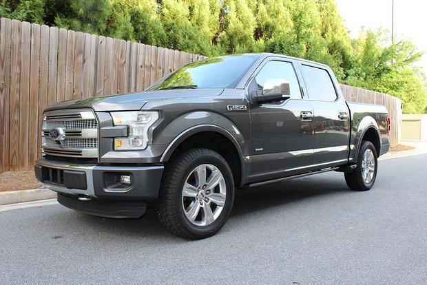 2015 ford f 150 platinum crew cab real world review. Black Bedroom Furniture Sets. Home Design Ideas