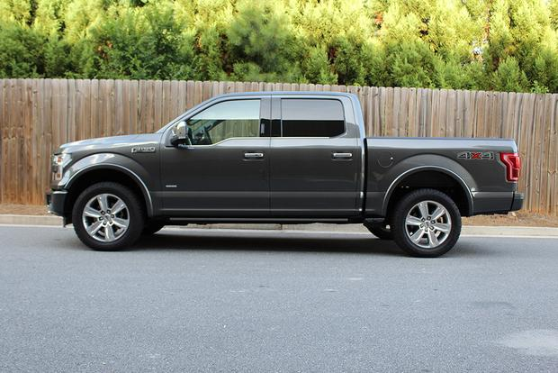 2015 ford f 150 platinum crew cab real world review autotrader